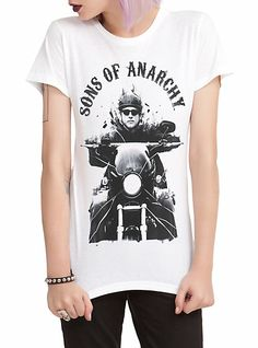 Sons Of Anarchy Jax Girls T-Shirt | Hot Topic