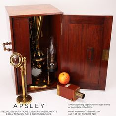 A ROSS-WENHAM UNIVERSAL INCLINING & ROTATING BINOCULAR MICROSCOPE, ENGLISH CIRCA 1888. Signed on the base Ross 5415 this is a fine example of Wenham's Universal Inclining & rotating microscope often referred to as the 'Ross Radial' - Case & Accessories
