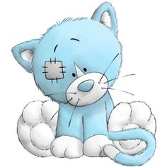 Carte Blanche - My Blue Nose Friends - Kittywink