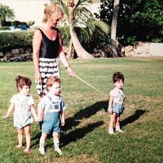 Remember child harness' with leashes? Yikes!