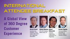SCTE CABLE-TEC EXPO® INTERNATIONAL BREAKFAST PANELISTS TO DISCUSS NEED FOR 360-DEGREE VIEW OF CUSTOMER