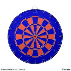 Blue and white dartboard Gifts For Dad, Great Gifts, Custom Dart Board, Candy Jars, Organizing Your Home, Diy Face Mask, Business Supplies, Game Room, American Flag