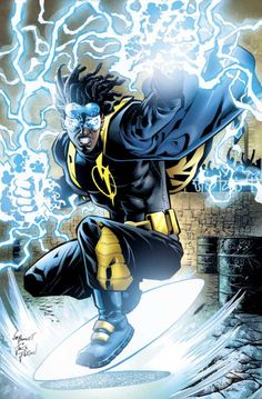 Static Shock by Joe Bennett
