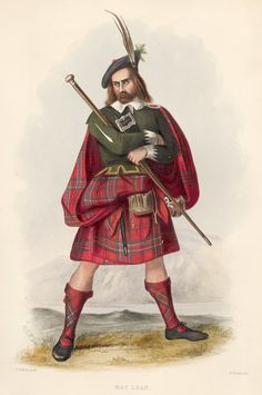 Mac Lean. The Clans of the Scottish Highlands | R. R. McIan