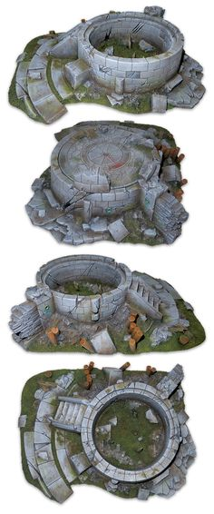 Miniature Scenery Terrain for Tabletop gaming and Wargames by Thminiatures.com — Kickstarter