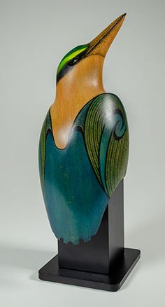 Bird Barn, Wood Bird, Barn Owls, Pottery Sculpture, Wood Sculpture, Exotic Birds, Colorful Birds, Flamingo Bird, Bone Carving