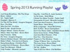 spring 13 running playlist