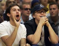 tobey maguire and leonardo dicaprio are friends and now I can die happy. THIS IS THE BEST PICTURE