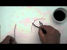 Non Traditional Drawing Tools- Drawing with Sticks