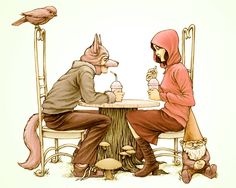 Little Red Riding Blog - there are wolves among us
