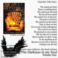 My Soul's Inferno ~ Julie Anne Addicott #DarknessInMySoul