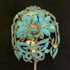 Art nouveau hat pin