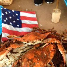 Patriotic Crab