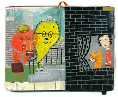 Stephanie Birdsong sketchbooks