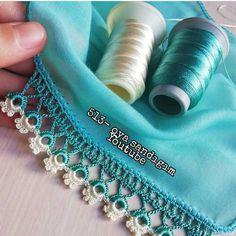 Der Neuen Besten : 36 Most Wanted Headscarf Edge Crochet Needlework Models