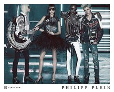 Lucky Blue Smith Reconnects with Philipp Plein for New Ads