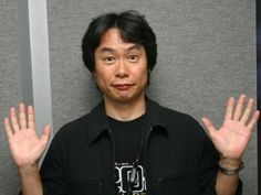 Shigeru Miyamoto: creator of probably one of my biggest obsessions- Zelda. Just need to get the balls to get my Triforce tattoo, haha