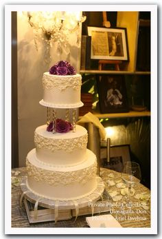 Yummy and beautiful wedding cake by Joy San Gabriel Cakes