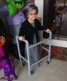 Granny - DIY Halloween Costume Idea
