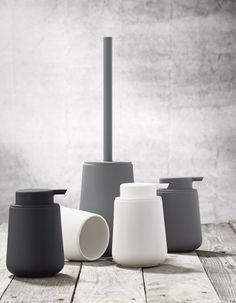 Zone Toilettenbürste Nova One Keramik Soft Touch grau matt