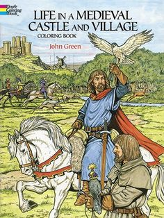 Life in a Medieval Castle and Village Coloring Book (Dover History Coloring Book) von John Green http://www.amazon.de/dp/0486265420/ref=cm_sw_r_pi_dp_gD34ub1RGM32R