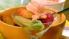 Blueberry Peach Fruit Salad with Thyme | Recipe | Peach Fruit, Fruit ...