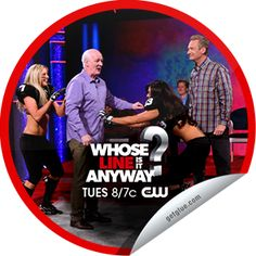 Steffie Doll's Whose Line is it Anyway? Legends Football League Sticker | GetGlue