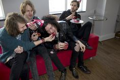 We had an ultimate cupcake challenge with the lads from the rock 'n roll band Anti Retro Vinyls. Local Bands, Vinyls, The Rock, Artists, Retro, Music, Fictional Characters, Musica, Musik