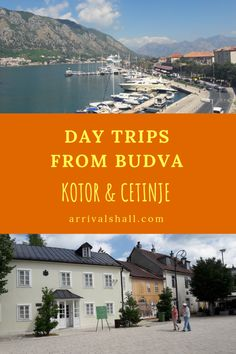 A travel guide to day trips to Kotor and Cetinje from the Montenegro coastal town of Budva including advice on transport. Europe Travel Guide, Travel Guides, Travel Destinations, Europe Beaches, Montenegro Travel, Day Trips, Travel Inspiration, Places To Visit, Journey