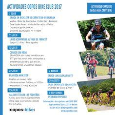 Salidas verano 2017 #CoposBikeClub #bikelovers #cycling #bikeclub #pedalear #bike