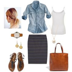 """ Weekend"" by bluehydrangea on Polyvore"
