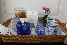 Chinoiserie Chic: The Blue and White Chinoiserie Breakfast Tray