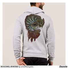 Shop BOGOMIL AVATAR T-Shirt created by artofthemystic. Visionary Art, Tshirt Colors, Colorful Shirts, Avatar, My Design, Shop Now, Men Sweater, T Shirt, Painting