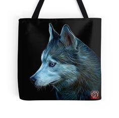 Siberian Husky Art - 6048 - BB by Rateitart