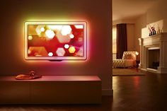 This would make having a tv the highlight of a room at a party instead of an eyesore.