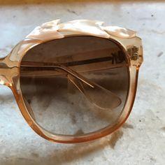 Stunning vintage sunglasses by Emmanuelle Khanh