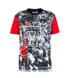 4bef97096b24 POST GAME Michael Jordan tee Cotton for comfort Short sleeves All-over  crowd print Jordan