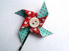 I love making pinwheels.