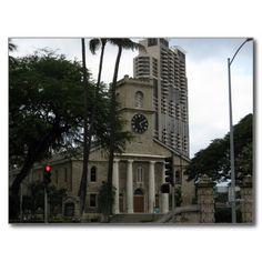 USA - Hawaii - Kawaiahaʻo Church, Honolulu