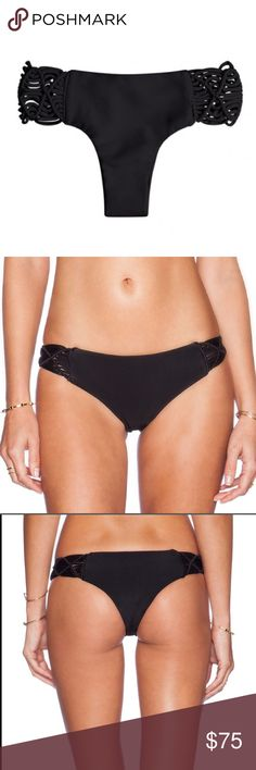Mikoh Cayman NWOT Mikoh Cayman Night bottoms. Never worn. Giving up cause they run small as hell, fits a size 00- 2. No, i won't model my butt in these! Mikoh Swim