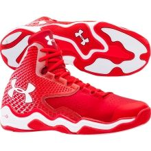pretty nice a2634 6d5ca Under Armour Men s ClutchFit Lightning Basketball Shoe - Red White   DICK S  Sporting Goods Nike