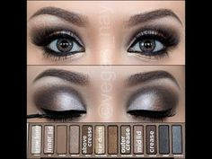 5 great Urban Decay Naked palette tutorials - everyday eyes, neutral eyes, smokey eyes