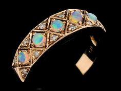 opal headband