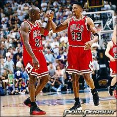 Who would you pick to win a dance-off between Michael Jordan and Scottie Pippen?