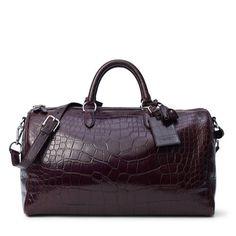 $25,000.00 Boston Alligator Bag  RalphLauren.com