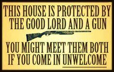 As for me and my house we will serve the lord and protect it with a Springfield!