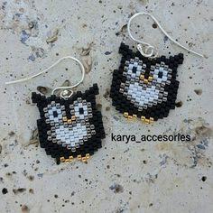 30 likes, 1 Comments - ( . Beaded Bracelet Patterns, Beading Patterns, Beaded Bracelets, Beaded Earrings Native, Owl Earrings, Seed Bead Jewelry, Women's Jewelry, Seed Beads, Bracelets