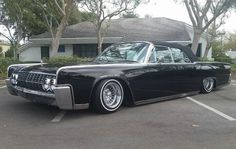 Lincoln Continental Laced up