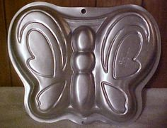 Butterfly Wilton Cake Pan.  $6.50