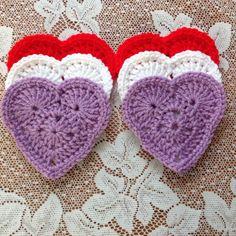Crochet Crafts, Crochet Doilies, Hand Crochet, Crochet Projects, Crochet Ideas, Knit Crochet, Sewing Projects, Crochet Patterns, Valentine Crafts For Kids